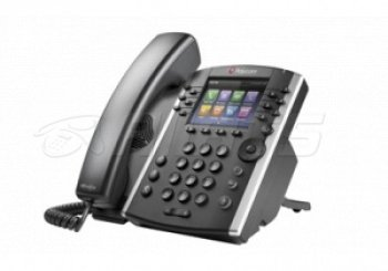 Телефон VVX 410 12-line Desktop Phone Gigabit