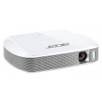 Acer projector C205, FWVGA/DLP/LED/150 Lm/1000:1/30000 Hrs/HDMI(MHL)/2Wx2/Battery/Wi-Fi via Adapter(option)/302g